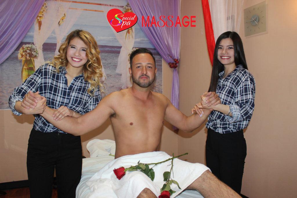 Angel 2 hand massage