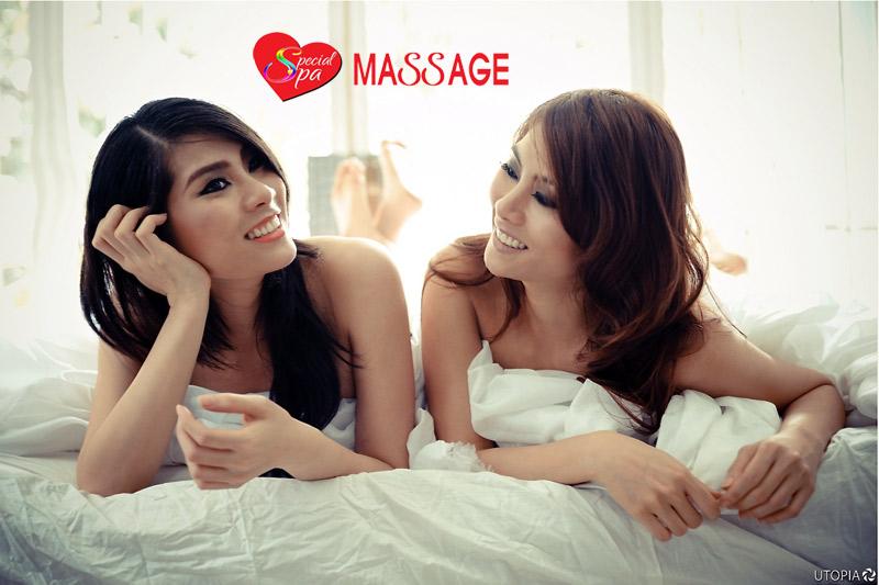 Angel massage top