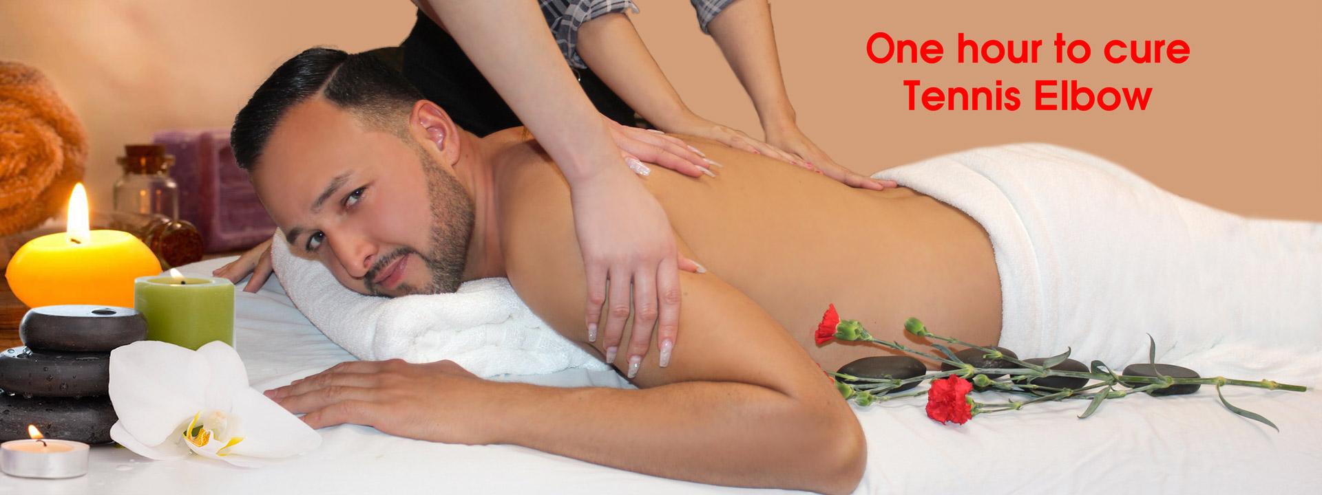 Massage for man angel